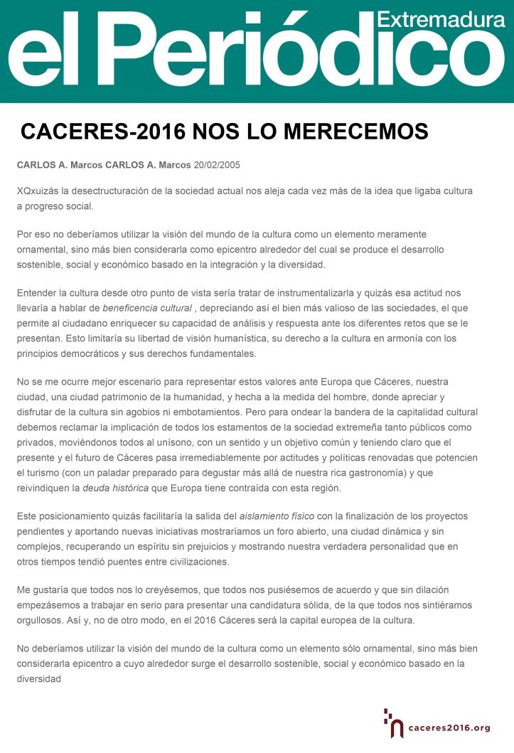 2005-CACERES-2016-NOS-LO-MERECEMOS---Opinión---El-Periódico-Extremadura